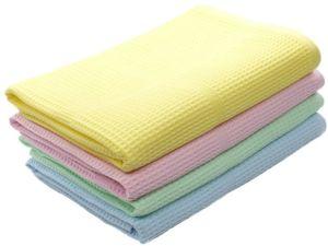 Купить оптом вафельные полотенца